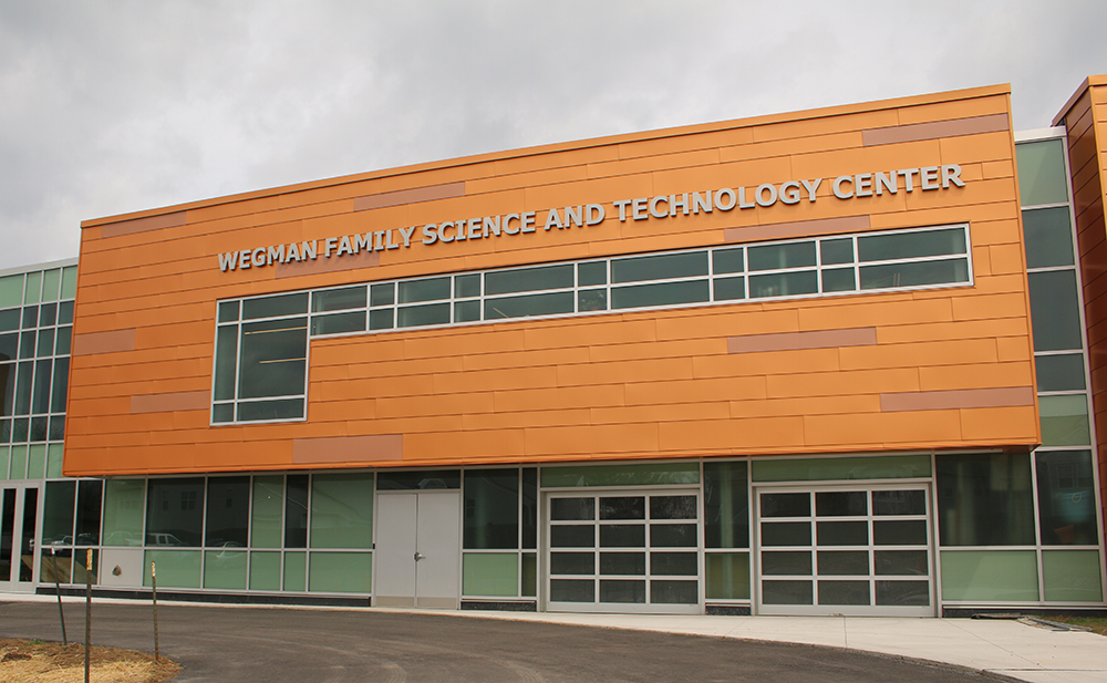 Wegman Family Science and Technology Center | McQuaid Jesuit